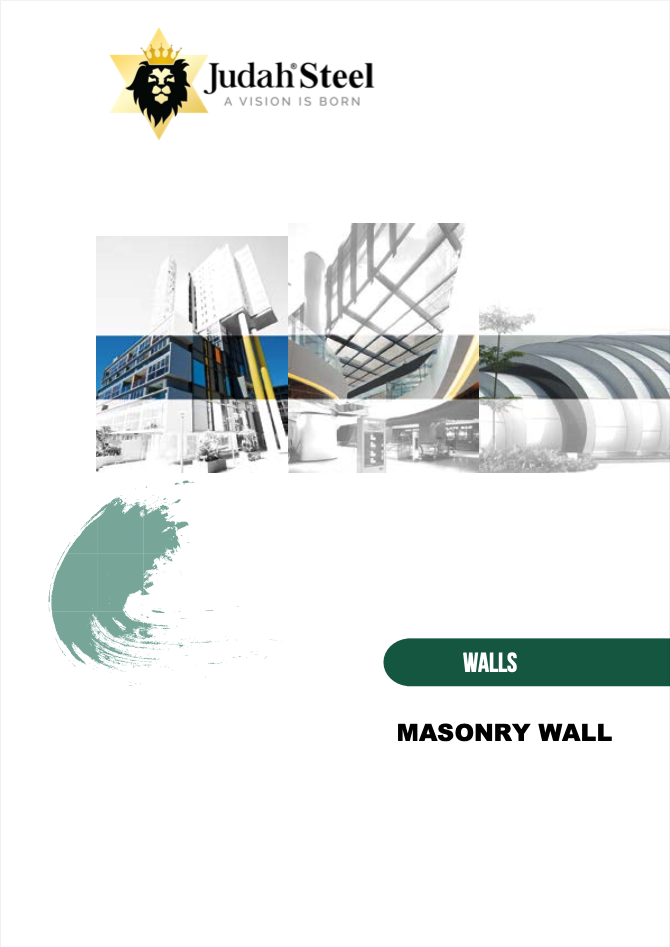 Steel Stud & Track Wall Framing System Section Of The Judah 2020 Professional Design Manual