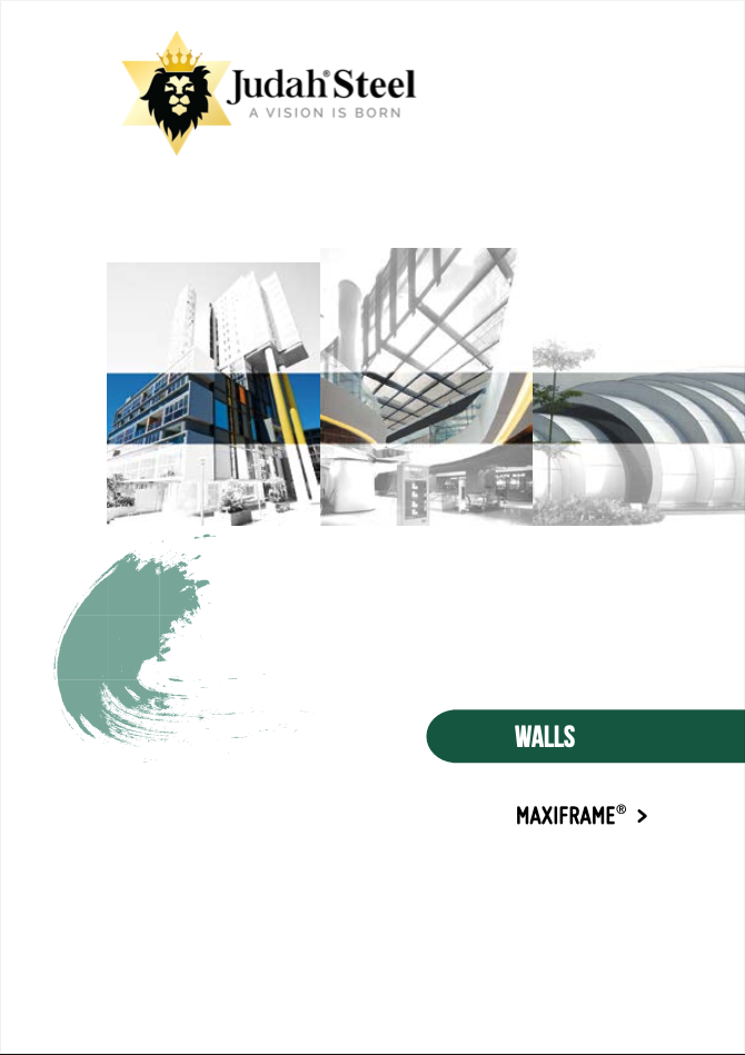 Maxiframe® External Wall Framing System Section Of The Judah 2020 Professional Design Manual