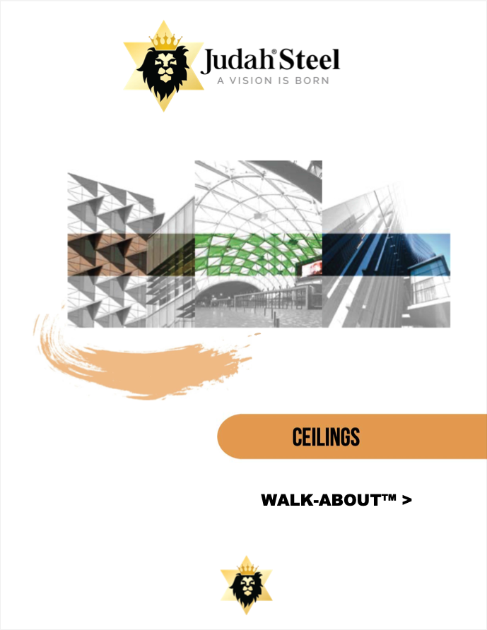 WALK ABOUT Trafficable Ceiling System Section Of The Judah 2020 Professional Design Manual